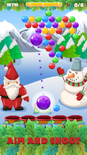 Bubble shooter - Christmas Puzzle with Santa Claus for pc