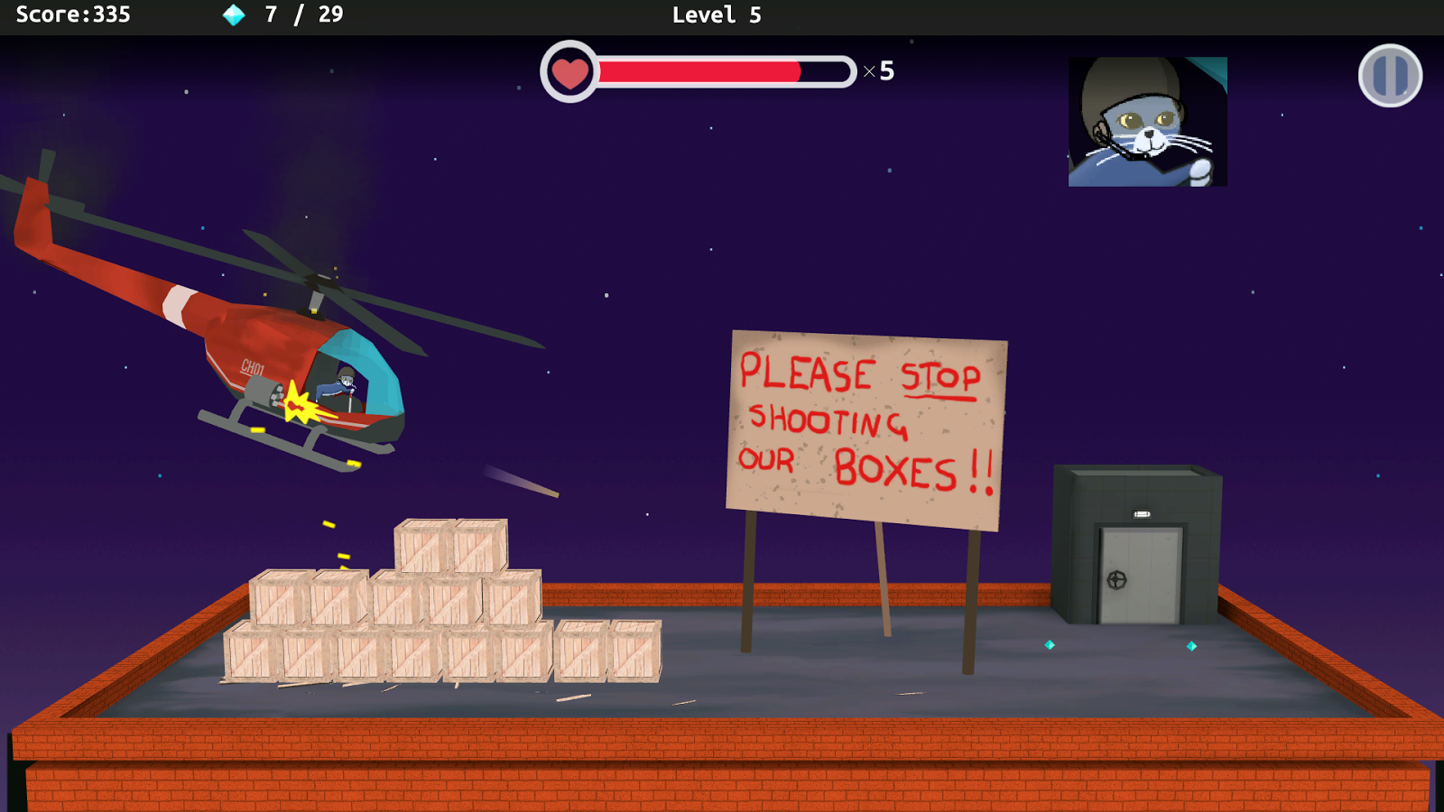 Shakey's Escape Screenshot 1