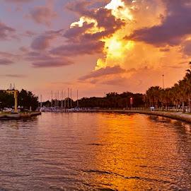 { Clam Bayou ~ Marina }  by Jeffrey Lee - Landscapes Waterscapes ( clam bayou marina, sunsets on clam bayou,  )