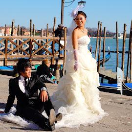 Corean wedding in Venezia by Gérard CHATENET - Wedding Other