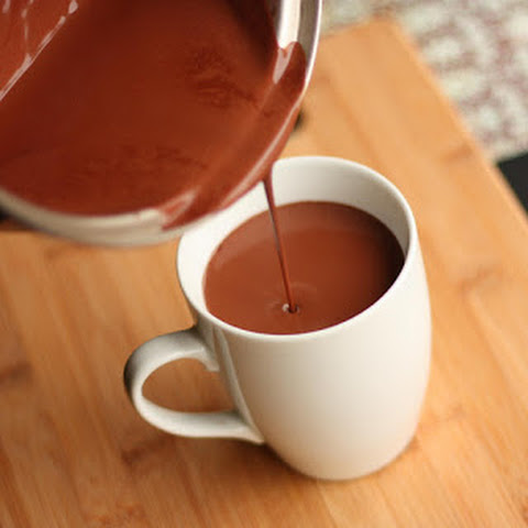 Rich Thick Hot Chocolate - Under 100 Cal