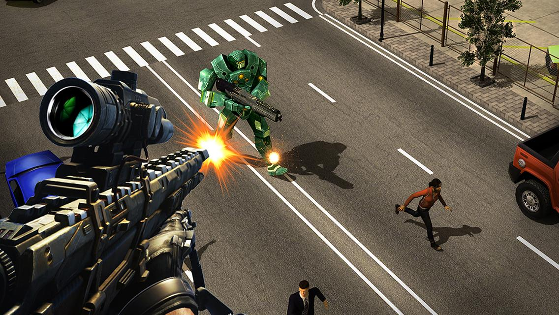 Sniper Robots Screenshot 12