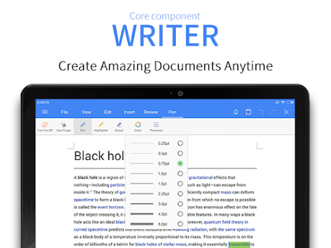 WPS Office + PDF APK screenshot thumbnail 9