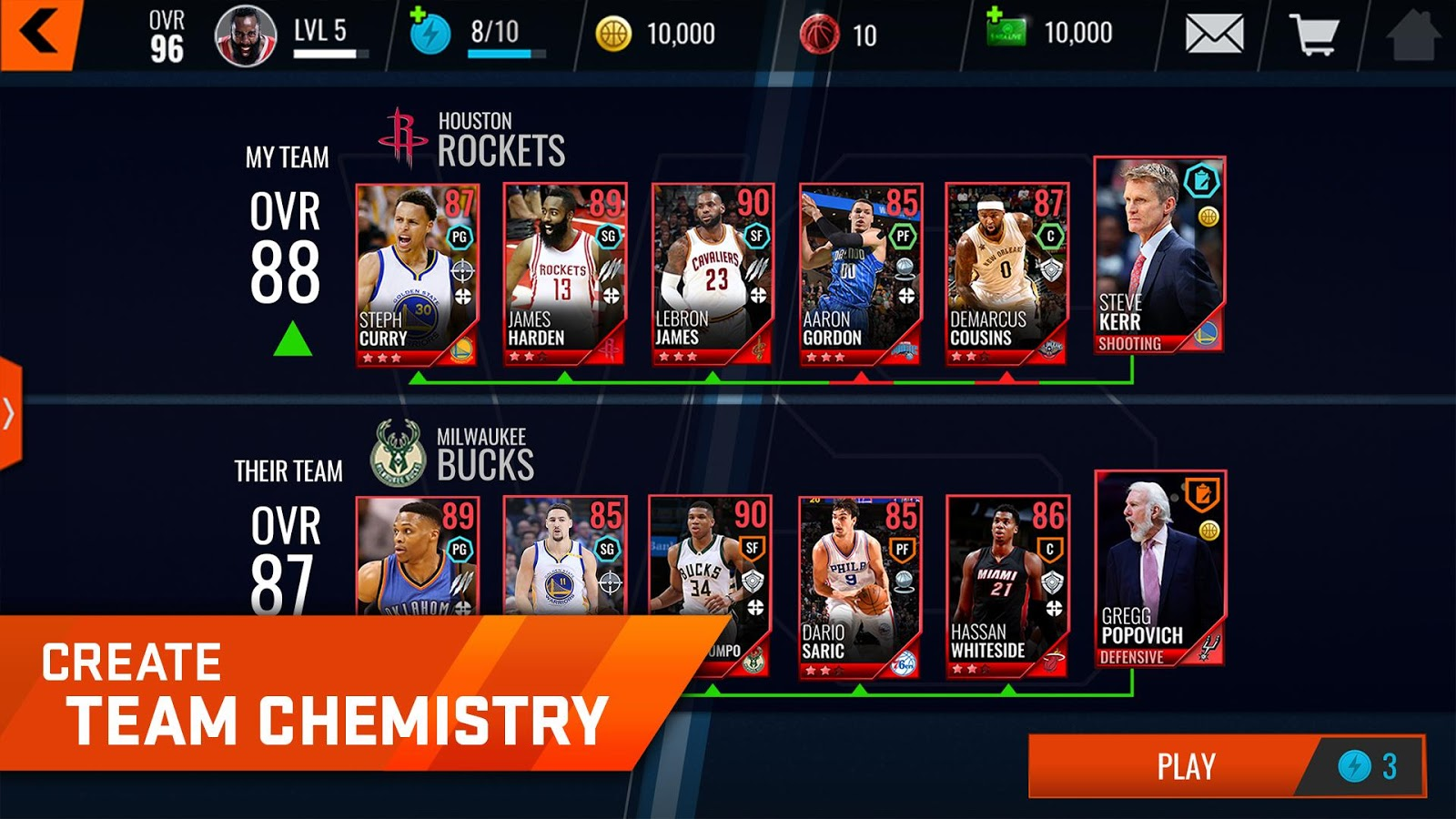 NBA LIVE Mobile Basketball Screenshot 17