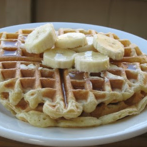 Simple Yogurt Waffles