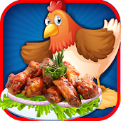 Crazy kitchen chicken wings–cooking tasty treats APK Descargar