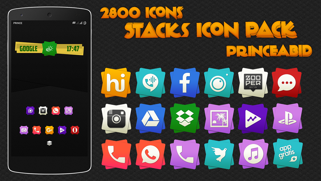 Stacks Icon Pack Screenshot