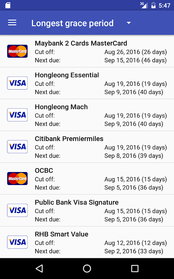Credit Card Manager Pro Screenshot 13