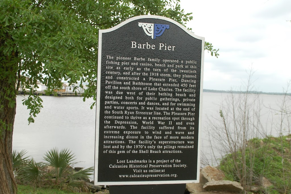 The pioneer Barbe family operated a public fishing pier and casino, beach and park at this site as early as the turn of the twentieth century, and after the 1918 storm, they planned and constructed a ...