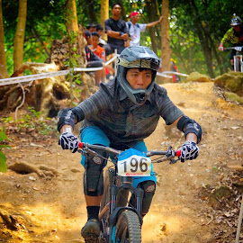 MTB Carnival - Men by Chin KK - Sports & Fitness Other Sports ( mandai, mtb, trail, men, helmet )
