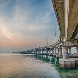 Penang Bridge by Lim Keng - Buildings & Architecture Bridges & Suspended Structures