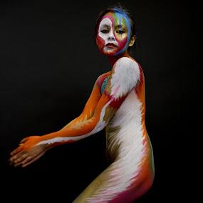 Body Art by VAM Photography - People Body Art/Tattoos ( body art, art, culture, model, people )