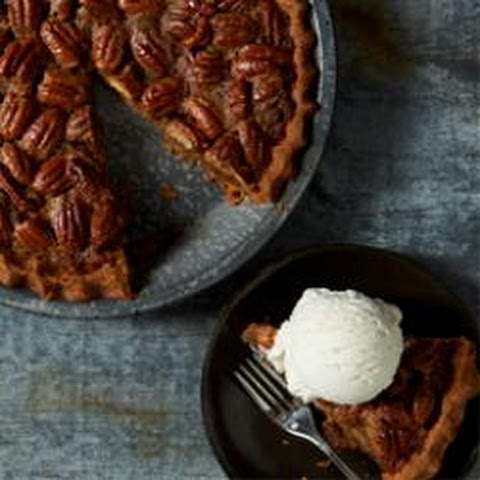 Maple Pecan Pie a la Mode