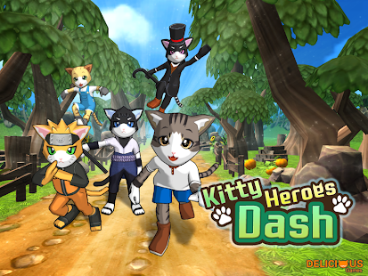 Kitty Heroes Dash - screenshot