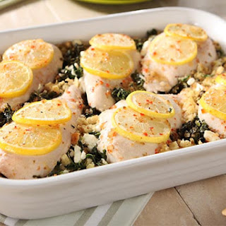 Spinach and Feta Chicken Bake