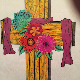 Amen by Linda Tribuli - Drawing All Drawing