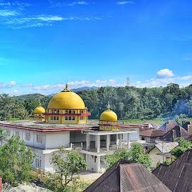 Masjid indonesia by Yoni Putra - Sports & Fitness Lacrosse ( #kerincisakti )