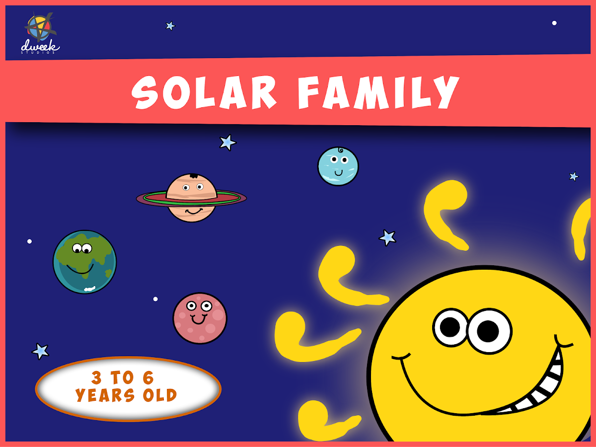 Solar Family - Kids Story Game Screenshot 5
