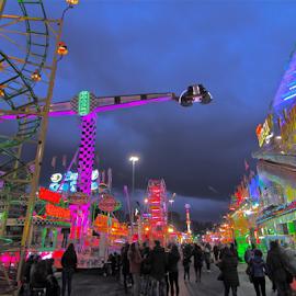 by Felice Bellini - City,  Street & Park  Amusement Parks ( amusement park, amusement, genova, city )