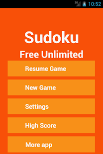 Sudoku Free Unlimited - screenshot