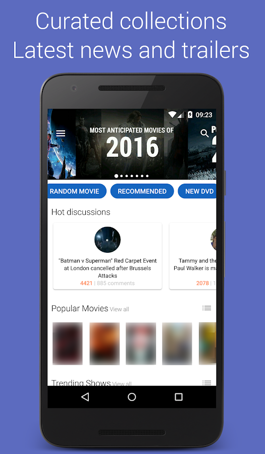 Movie Roll – Movies and Shows Screenshot 0