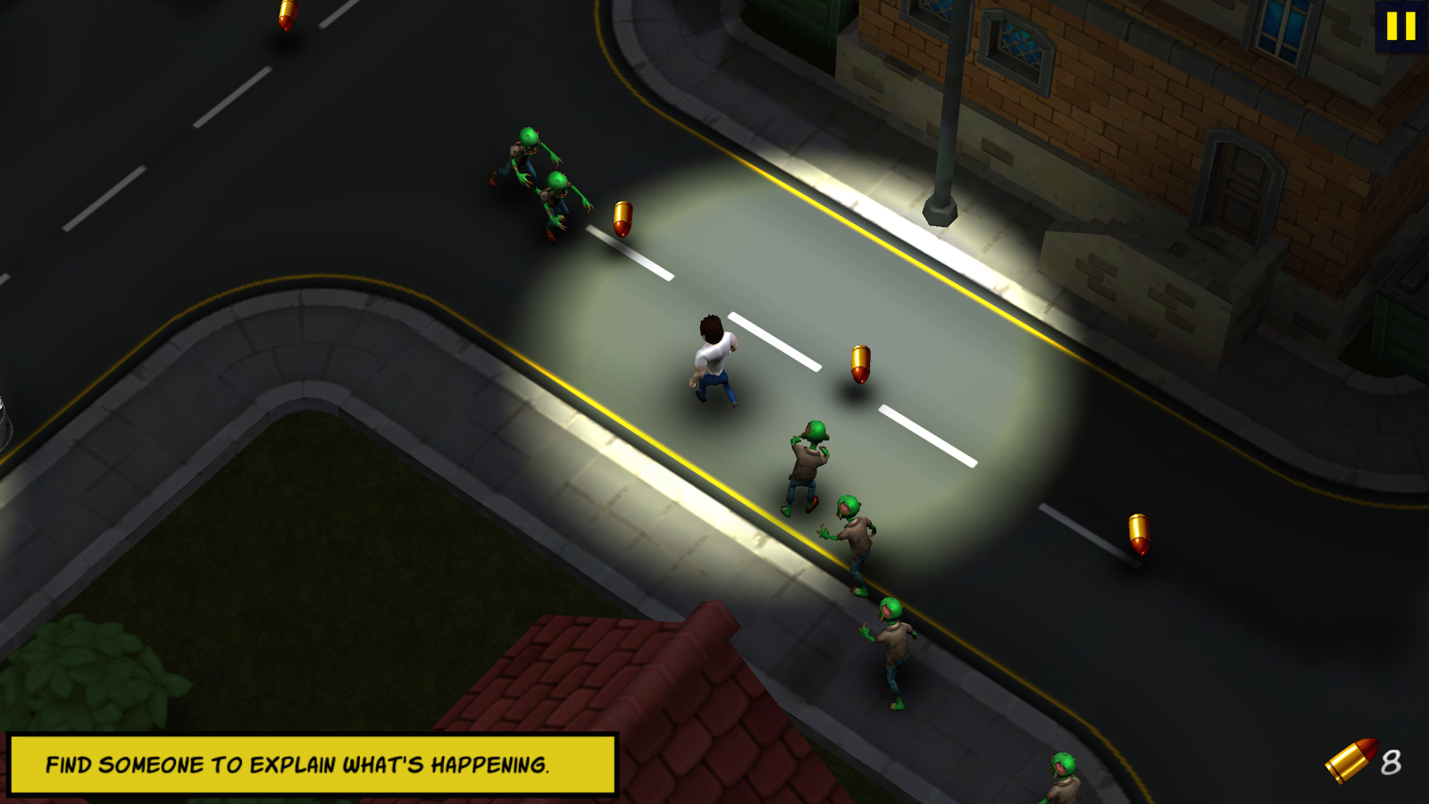 Max Bradshaw: Zombie Invasion Screenshot 2