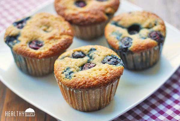 Gluten Free Blueberry Muffins Recipe | Yummly