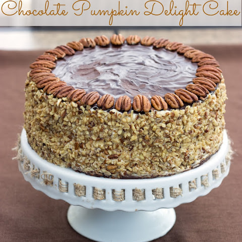 Chocolate Pumpkin Delight Cake