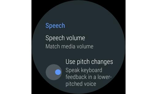 Google TalkBack screenshot 7