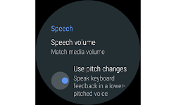 screenshot of Google TalkBack