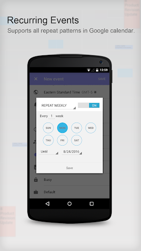 Tiny Calendar Pro-Calendar App - screenshot