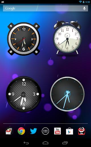 Analog Clock Wallpaper/Widget screenshot 13