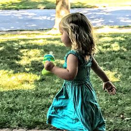 Got Milk! by Michael Smith - Babies & Children Children Candids ( girl, action, children, candid, toddler )