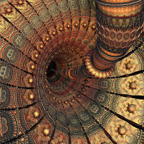 MB3D - 684 by Siniša Dalenjak - Illustration Abstract & Patterns ( mandelbulb 3d, fractal 3d )