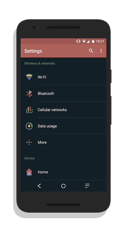 [Substratum] TextileOS Theme Screenshot 1