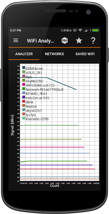 IP Tools: WiFi Analyzer Screenshot 3