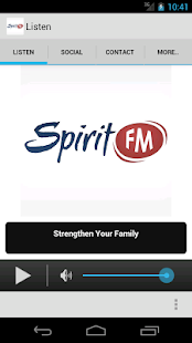 Spirit FM Screenshot