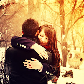 Don't ever go away by Alina M. - People Couples ( love, couples )