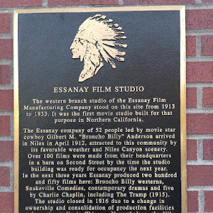 ESSANAY FILM STUDIO The western branch studio of the Essanay Film Manufacturing Company stood on this site from 1913 to 1933. It was the first movie studio built for that purpose in Northern ...