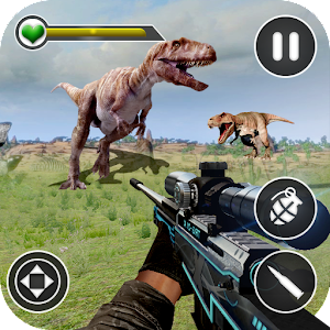 Dino Hunting Kill Safari Sniper Shoot Online PC (Windows / MAC)