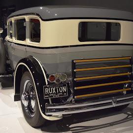 1930 Ruxton Model C (back) by Ada Irizarry-Montalvo - Transportation Automobiles
