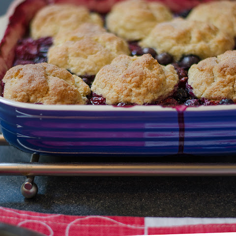Fashionable Mixed Berry Cobbler with Buttermilk Biscuits