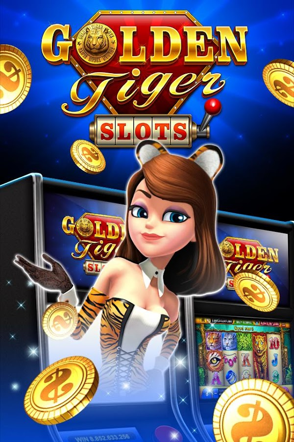 Golden Tiger Slots- free vegas Screenshot 0