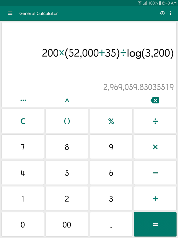 ClevCalc - Calculator Screenshot 9