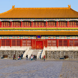 Forbidden City by Vinod Kalathil - Buildings & Architecture Public & Historical ( building, architecture, palace, beijing, china )