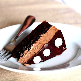 Chocolate Cake by Kathleen Waterman - Food & Drink Candy & Dessert