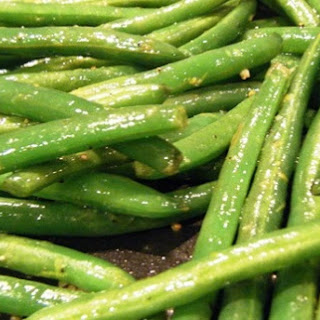 Green Beans with Lemon and Garlic