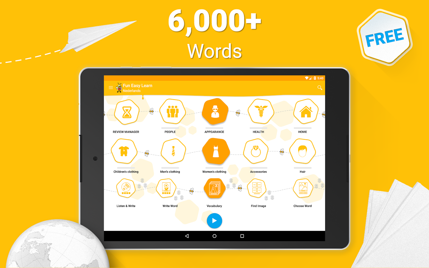 Learn Dutch - 6,000 Words Screenshot 8