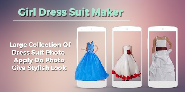 Girls Dress Photo Suit Maker