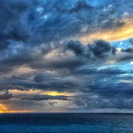 Cancun sunrise by Margie Troyer - Landscapes Sunsets & Sunrises
